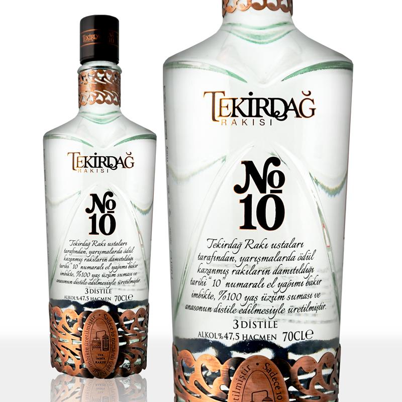 テキルダー ナンバーテン 700ml Tekirdag No.10 トルコのお酒 トルコ産