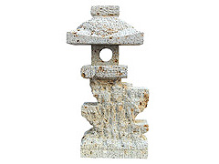 和風 ] 大谷石 とうろう 大谷灯籠 1尺5寸【送料別】[ 庭 灯篭 【ラッキーシール対応】