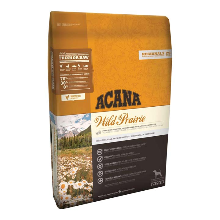 アカナ ワイルドプレイリードッグ 6kg 穀物不使用 全犬種用 送料無料 犬 フード ドライ ドッグフード ペットフード 穀物フリー グレインフリー ACANA 【D】