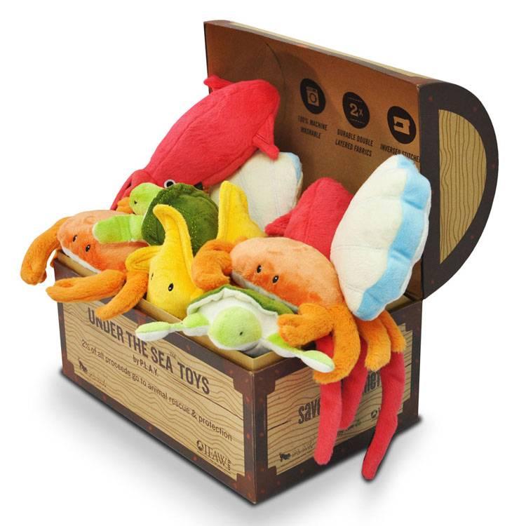 アンダー・ザ・シー BOXセット 送料無料 ペット用品 ペット おもちゃ ぬいぐるみ 手作り 犬 猫 P.L.A.Y ルークラン 【TC】【B】