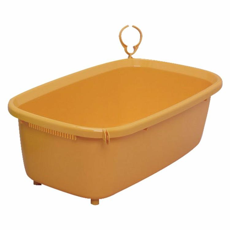 最大350円クーポン配布中 ワンにゃんDAY ペット用バスタブ BO-600E オレンジ ペット用 最新 ペット バスタブ アイリスオーヤマ 浴槽 シャンプー お風呂 上等 小型犬用 犬