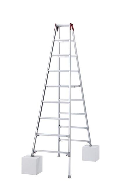 【法人向け】長谷川工業(Hasegawa)はしご兼用伸縮脚立 RYZ-27b(2.51~2.82m)【代引き不可】【個人宅・北海道・沖縄。離島発送不可】