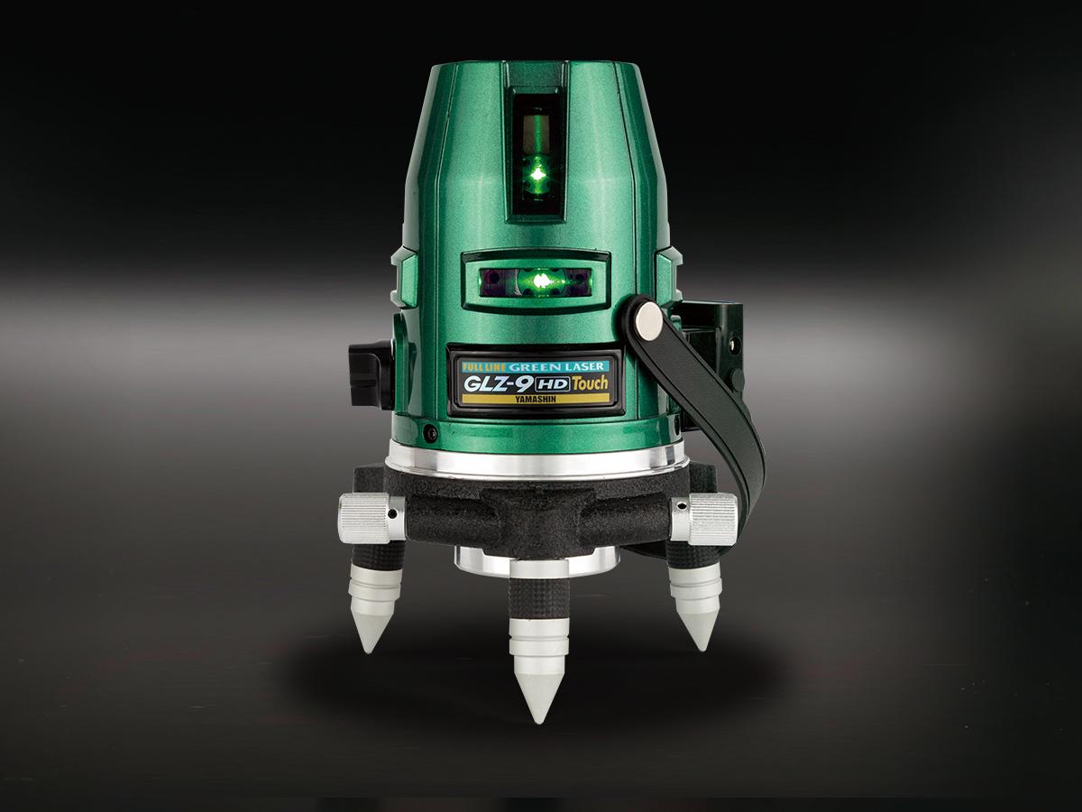 山真グリーンレーザーGLZ-9-TC-J 本体+受光器