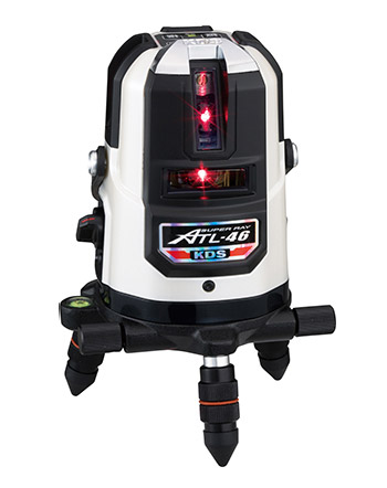 明るい場所でも抜群に見やすい超高輝度ライン KDS 超高輝度赤色レーザー墨出器 ATL-46A 本体のみ 激安☆超特価 激安通販ショッピング