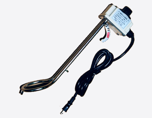 大栄電熱工業 投げ込みヒーター サーモ付1kw ロングタイプ