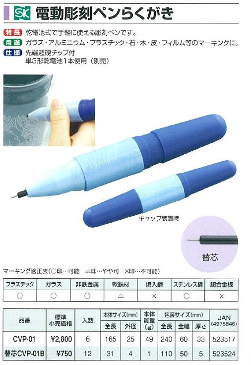 유리 조각에 편리한 전동 조각 펜