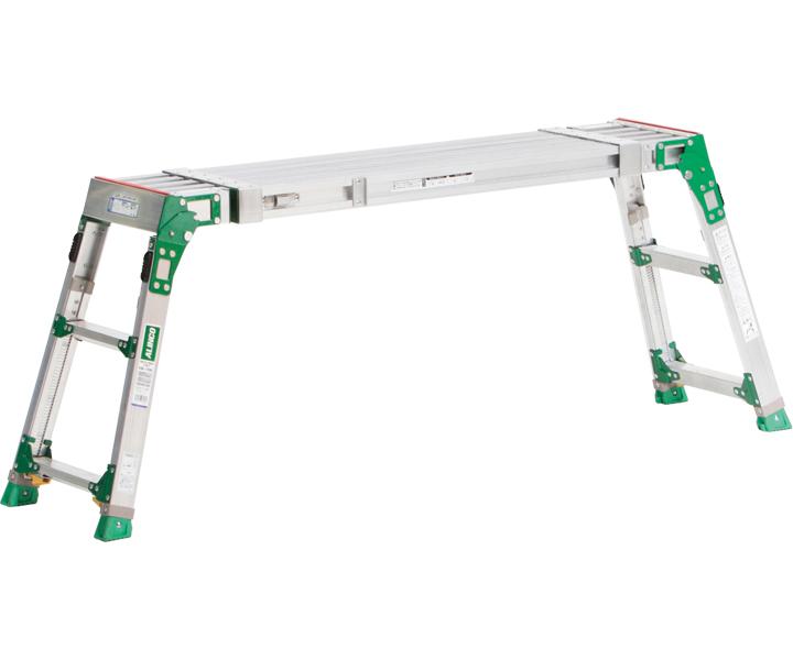 アルインコ 伸縮天板・伸縮脚付足場台 VSR-2609F【代引不可】