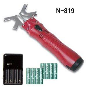 ニシガキ チェンソー研研 N-819 電池・充電器付5台入