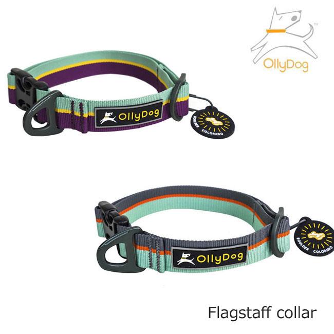 OllyDog・オリードッグフラッグスタッフカラー・犬 首輪 ペット・ペットグッズ 犬用品 首輪・胴輪・リード 首輪 可愛い おしゃれ 中型犬 大型犬
