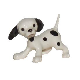 陶器製の小さな犬の置物 Hagen-Renaker 祝日 ダルメシアン パピー 激安通販販売 犬 置物 ドッグコレクション オーナーグッズ フィギュアー ギフト 愛犬家