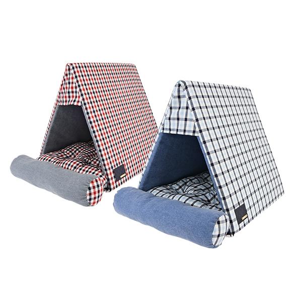 犬用 ニール三角屋根付きベッド NEIL HOUSE PUPPIA パピア ペット ドッグ