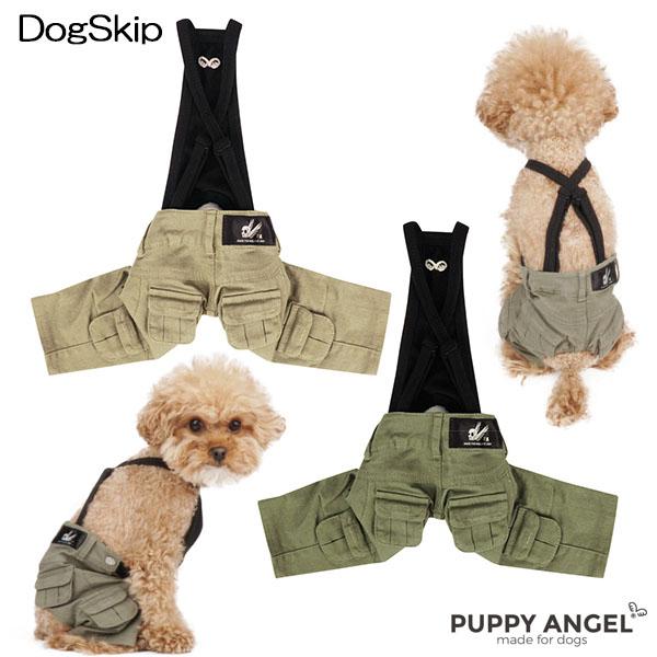 犬用 PAオキオベーシックカーゴパンツ :S,SM,M,ML,L,XLサイズ パピーエンジェル 洋服 ドッグウェア