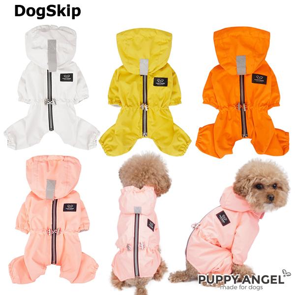 犬用 女の子用 PAマガジオレインコートオーバーオール つなぎ オーバーオール:2XL,3XLサイズ パピーエンジェル 洋服 ドッグウェア 小型犬 Puppy Angel(R) MAGAGIO Raincoat Overalls (All Cover, For Girls, Back Closure):犬服,ドッグウェア DogSkip