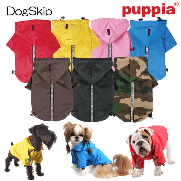 犬 レインコート 服 洋服 ベースレインコート:XXL BASE JUMPER PUPPIA パピア 洋服 peaf-rm03 犬 犬用 ペット ドッグ