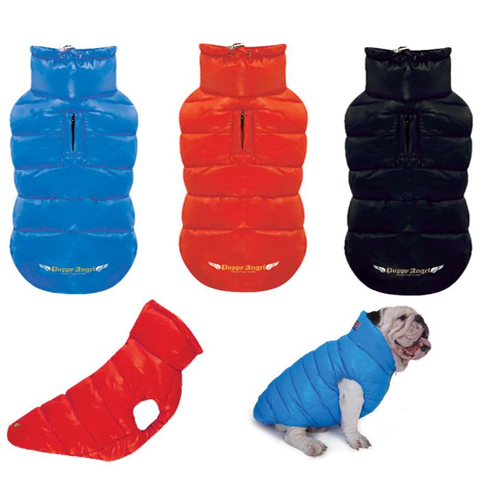 PAラブダウンベスト:3XL,4XL,5XL,6XL,7XLサイズ PUPPYANGEL パピーエンジェル 犬 服 犬 服 イヌ dog wear ウェア ドッグウェア 犬 服 中型犬 大型犬 ブルドッグ