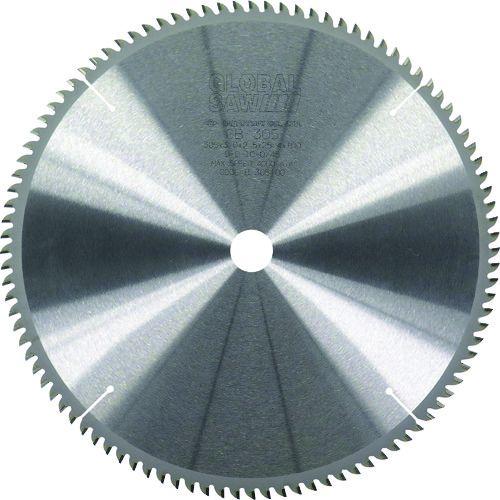 【モトユキ・グローバルソー】厚物アルミ・非金属用チップソー※《GB-380-100》外径380mm×100P・穴径25.4mm