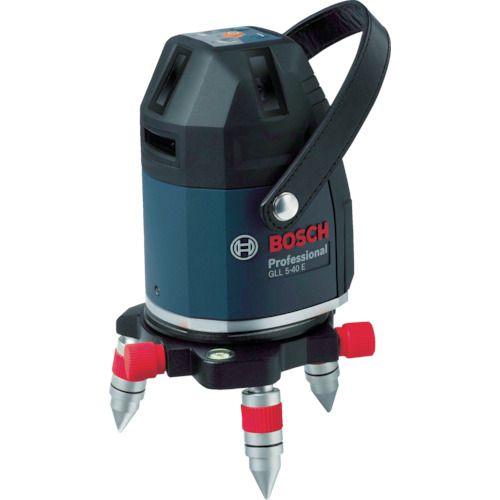 ボッシュ レーザー墨出器 [ GLL5-40ESET ] 水平・垂直4ライン・鉛直・地墨 / 受光器・三脚付属