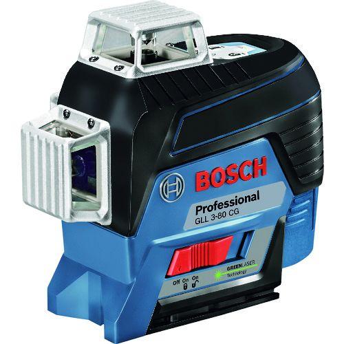 ボッシュ グリーンレーザー墨出器 [ GLL3-80CG ] 水平4ライン・垂直4ライン・鉛直・地墨 /
