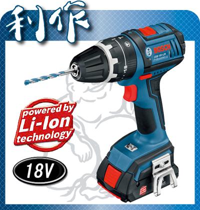 【ボッシュ】 ドライバドリル 充電式 18V 《 GSB18V-LIN 》セット品 ボッシュ コードレス ドライバドリル GSB18V-LIN BOSCH 送料無料