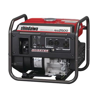 激安正規  新ダイワ  IEG2500 [ (ガソリンエンジン) インバータ発電機 ]:道具屋 利作-DIY・工具