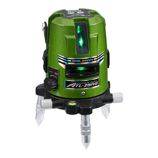 温度特性に優れた高輝度リアルグリーン! ムラテックKDS 高輝度グリーンレーザー墨出器 [ ATL-25RG ] 受光器・三脚別売