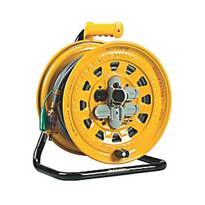ハタヤ 温度センサー付サンタイガリール [ BG-30S ] 30m・100V / 漏電遮断器付