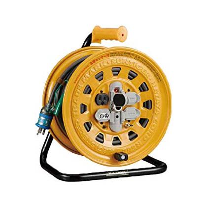 【ハタヤ】温度センサー付サンタイガリール30m《BG-301KXS》30m・100V☆漏電遮断器付(接地付)