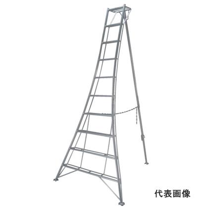 【代引不可】 ピカ 三脚脚立 《 GMF-300A 》 10段(天板含)