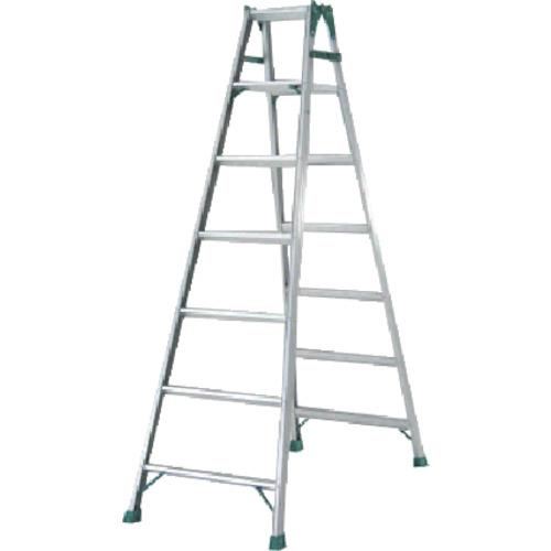 【代引不可】 ピカ はしご兼用脚立 スーパージョブ 《 JOB-210E 》 7段(天板含)