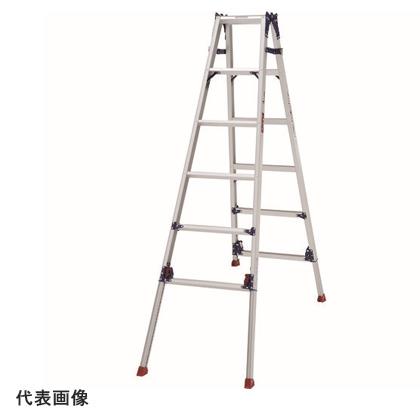 【代引不可】 ピカ はしご兼用脚立(ロングスライド) 《 SCL-150LA 》 5段(天板含)
