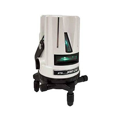 レーザー墨出し器 送料無料 STS グリーンレーザー墨出器 NMF-21G受光器・三脚別売 水平・垂直・おおがね・地墨ライン