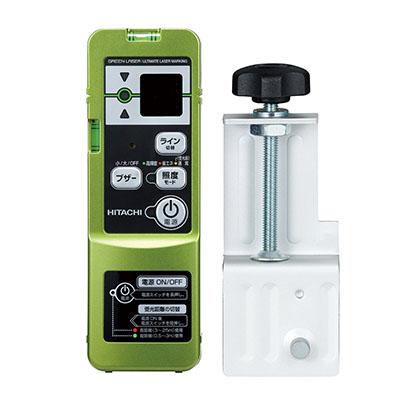 グリーンレーザーUG25MG用。受光器+クランプ ハイコーキ(日立工機) リモコン受光器 UG25MG用 [ 0033-7934 ] ※UG25MG別売