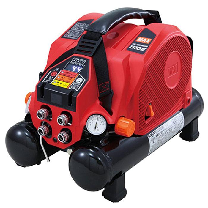 【マックス】 高圧エアコンプレッサ 《 AK-HH1110E 》8L 高圧専用