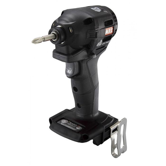 マックス 充電式インパクトドライバ [ PJ-ID152K ] 14.4V/18V本体のみ(ブラック)
