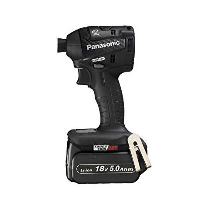 【タイムセール!】 ] [ 18V(5.0Ah)セット品(黒):道具屋 利作 EZ75A7LJ2G-B 充電インパクトドライバー パナソニック-DIY・工具