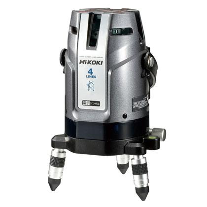 ハイコーキ(日立工機) レーザー墨出し器 4ライン [ UG25MY2(J) ] 電子ジンバル式 大矩・水平・垂直・鉛直・通り芯 受光器付