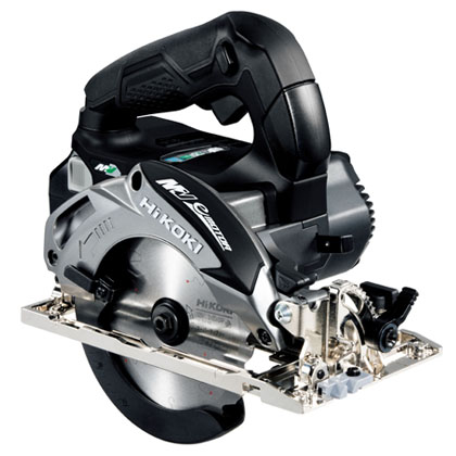 ハイコーキ(日立工機) マルチボルト(36V) コードレス丸のこ 125mm 無線連動機能なし セット品 [ C3605DA(XPB) ] カラー:ストロングブラック