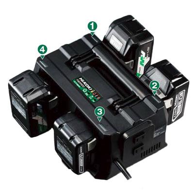 ハイコーキ(日立工機) マルチポート充電器 [ UC18YTSL ]