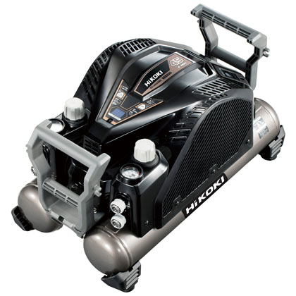 ハイコーキ(日立工機) 釘打機用 エアコンプレッサ [ EC1445H3(N) ] 一般圧専用 セキュリティ機能なし