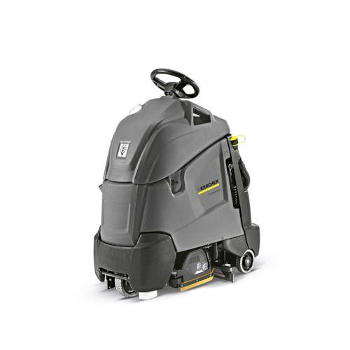 【法人専用/代引不可】ケルヒャー 立ち乗り式床洗浄機 [ BR55/40RSBp ] 36Vバッテリー / 業務用