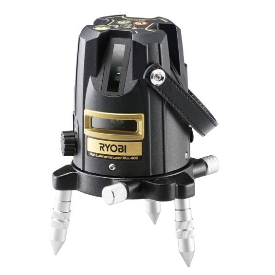 京セラ/リョービ 高輝度レーザー墨出器 [ HLL-400 ]