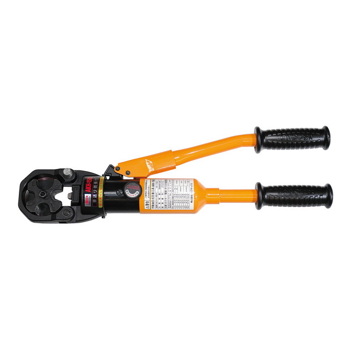 ロブテックス エビ 手動油圧式圧着工具 [ AKH150S ] | ロブスター LOBSTER