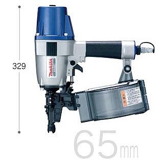 【マキタ】 釘打機 65mm 高圧 《 AN651 》サイディング用 逆巻シート65mm マキタ エア 釘打機 AN651 makita 送料無料