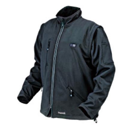 マキタ 充電式暖房ジャケット [CJ204DZM ]10.8V(スライド式)/14.4V/18V対応 (Mサイズ) / バッテリ、充電器、バッテリホルダ別売