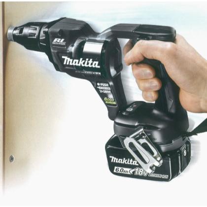 マキタ 充電式スクリュードライバ [ FS600DZB ] 18V本体のみ(黒) / 充電器、バッテリなし