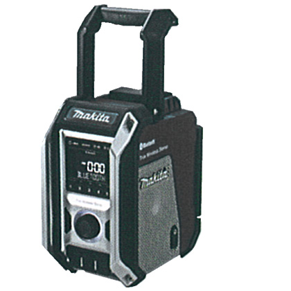 マキタ 充電式ラジオ [ MR113B ] 10.8~18V本体のみ(黒) / (バッテリ、充電器なし)