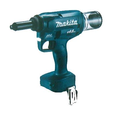 マキタ 充電式リベッタ [ RV150DZ ] 対応リベットφ2.4~4.8mm 18V本体のみ / バッテリ、充電器なし