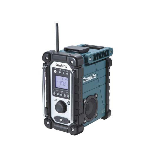 マキタ 充電式ラジオ [ MR107 ] 7.2~18V本体のみ(青) / (バッテリ、充電器なし)