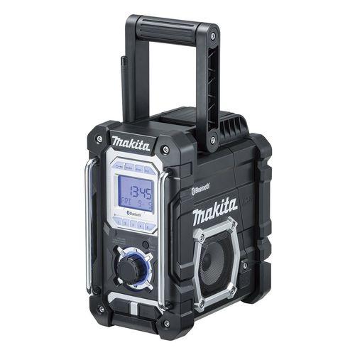 マキタ 充電式ラジオ [ MR108B ] 7.2~18V本体のみ(黒) / (バッテリ、充電器なし)