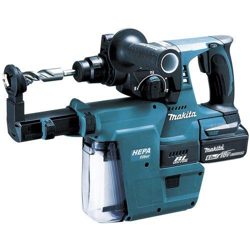 マキタ 充電式ハンマドリル 24mm (SDSプラスシャンク) [ HR244DRGXV ] 18V(6.0Ah)セット品
